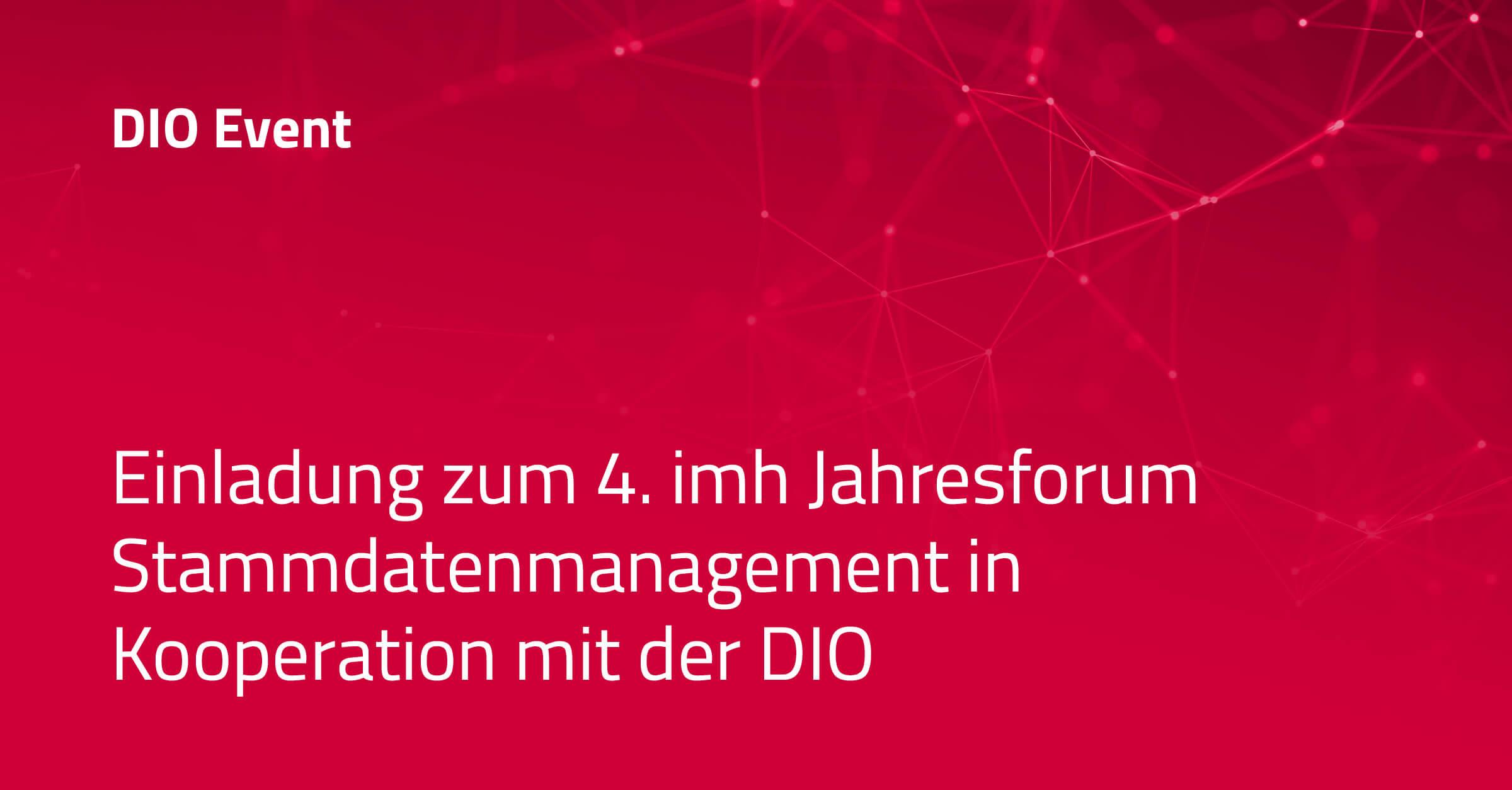 DIO_Event_4Jahresforum