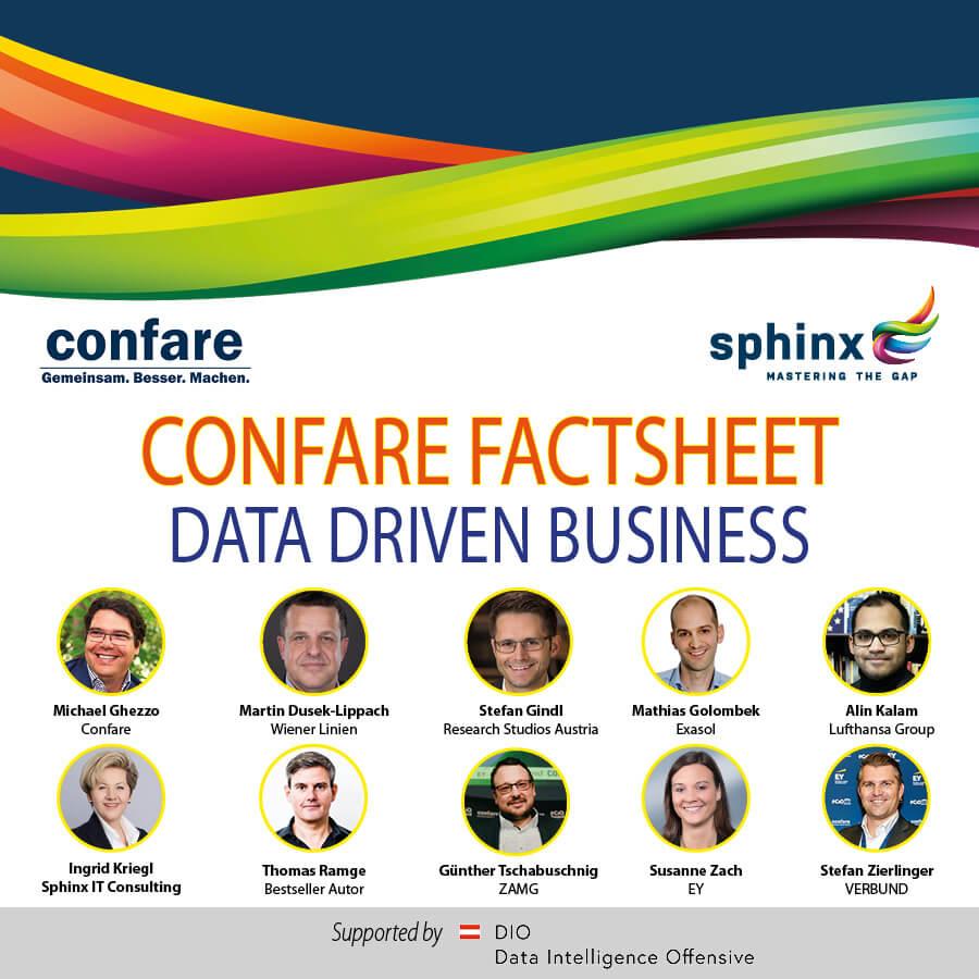 Confare Factsheet Data Driven Business