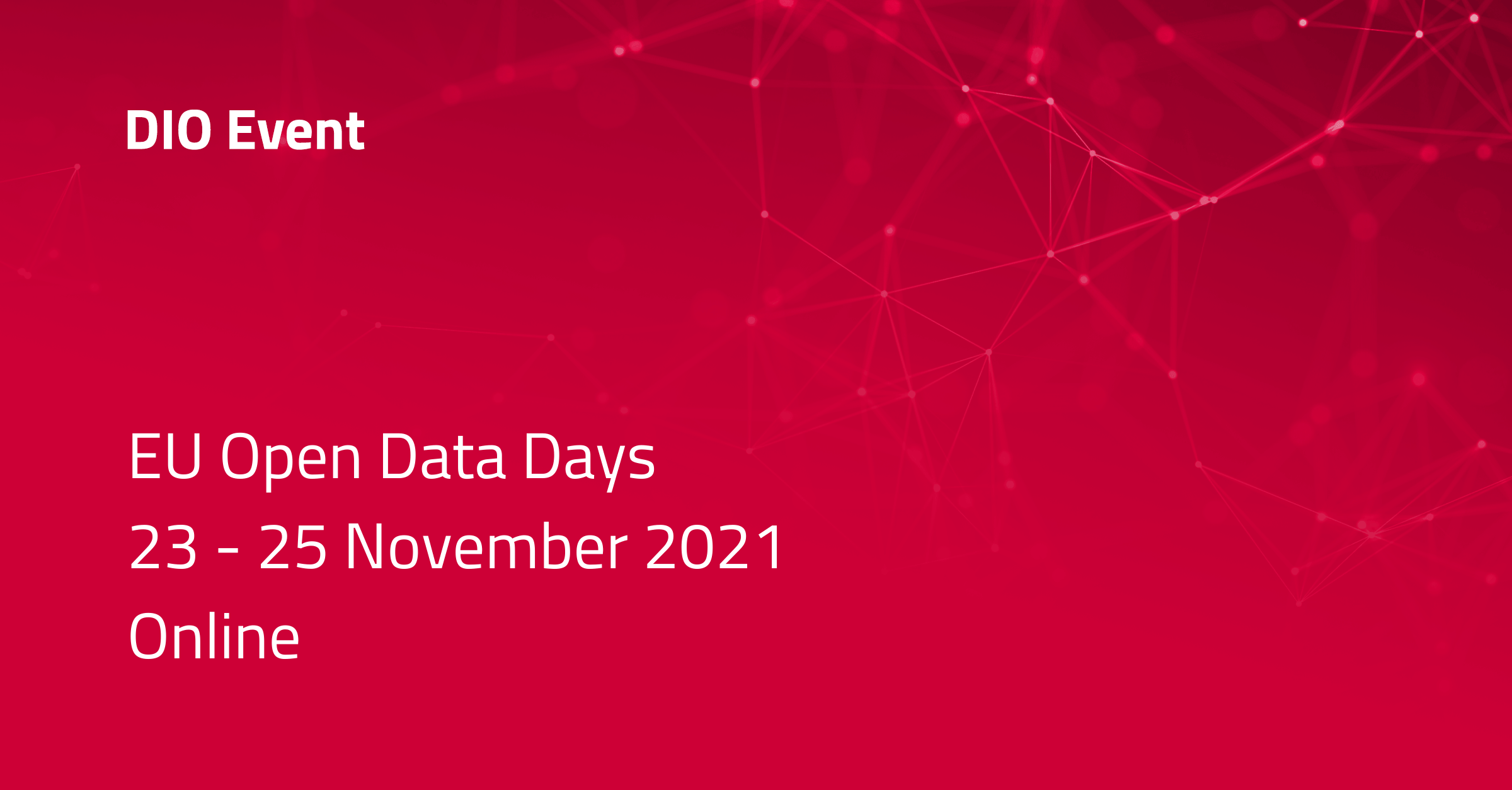 Event: EU Open Data Days