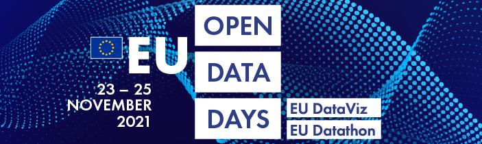 Banner EU Open Data Days 2021