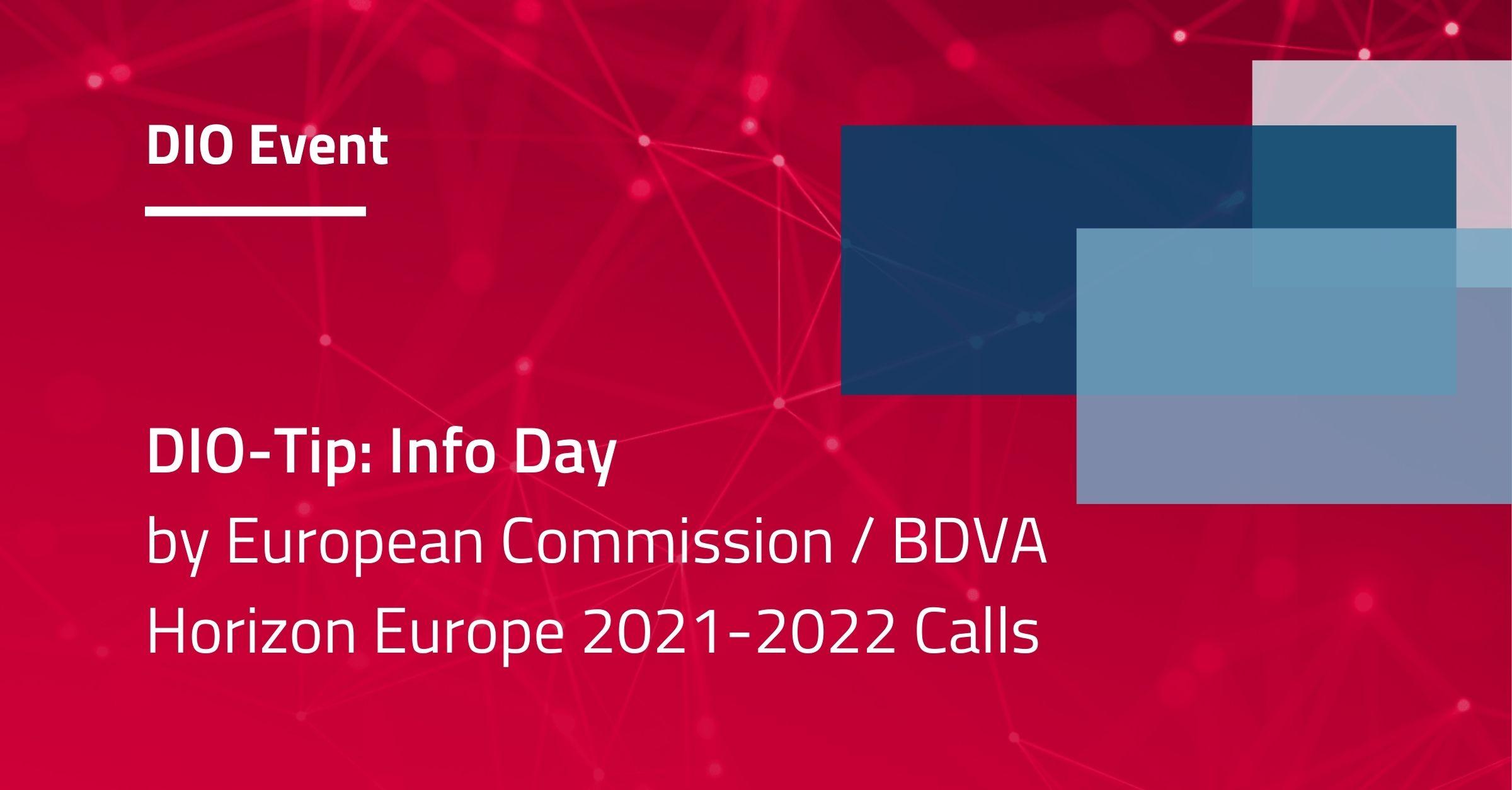 Info Day Horizon Europe Calls