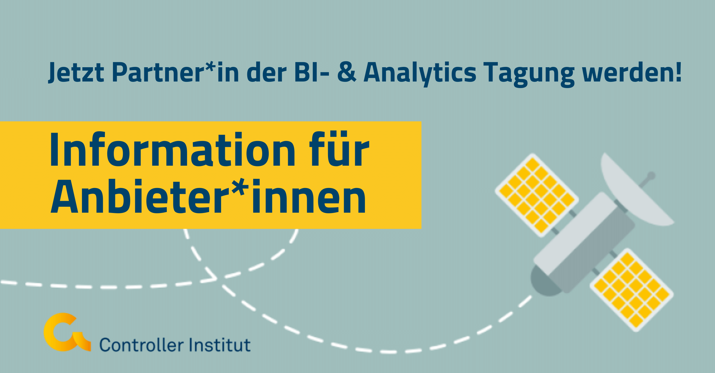 Jetzt Partner:in bei der BI- und Analytics Tagung von 23.-24.11. werden