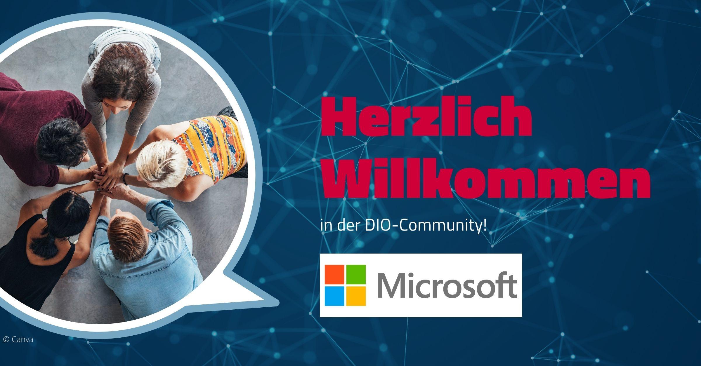 Willkommen im Netzwerk Microsoft