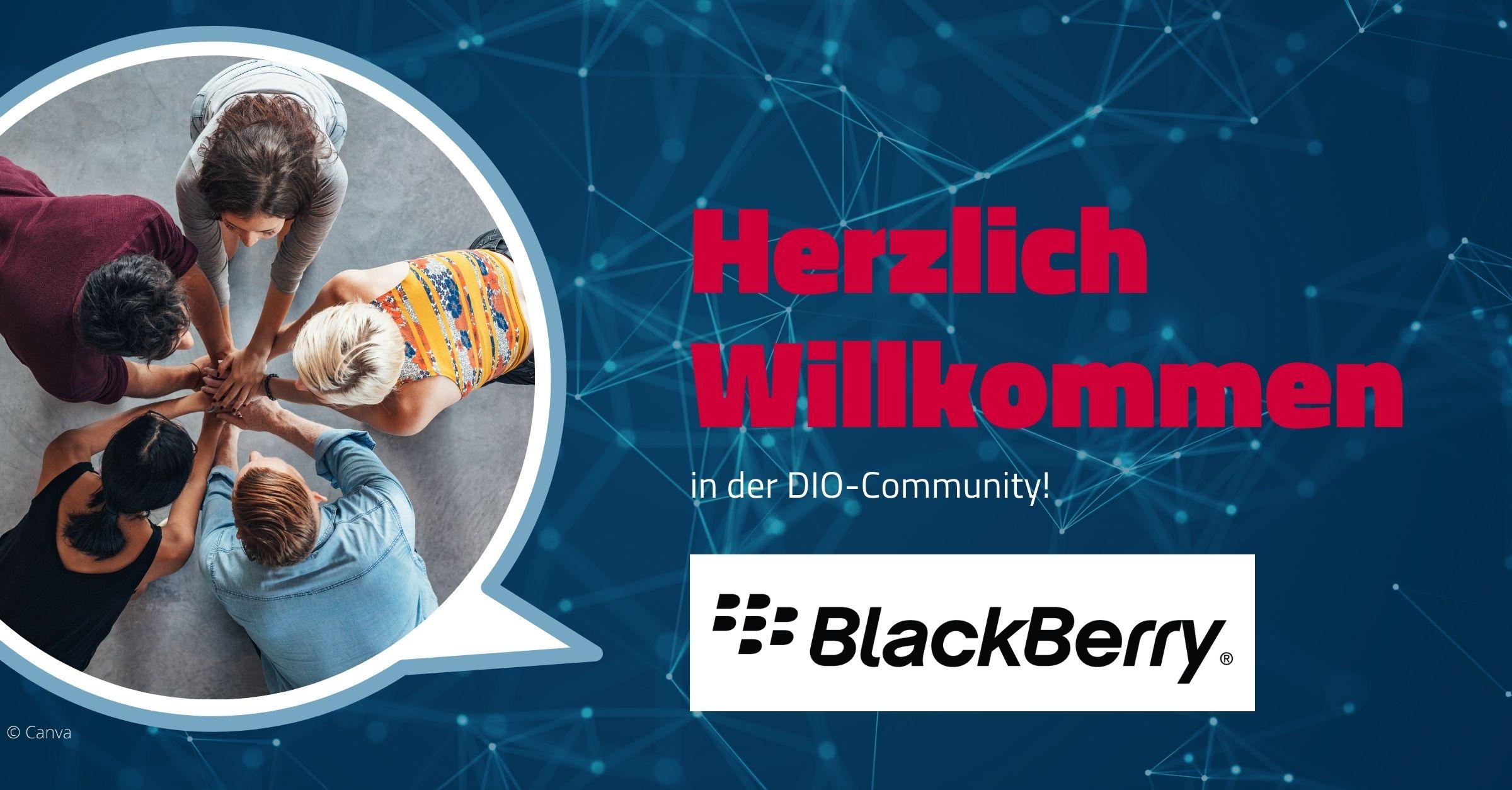 Willkommen im Netzwerk BlackBerry