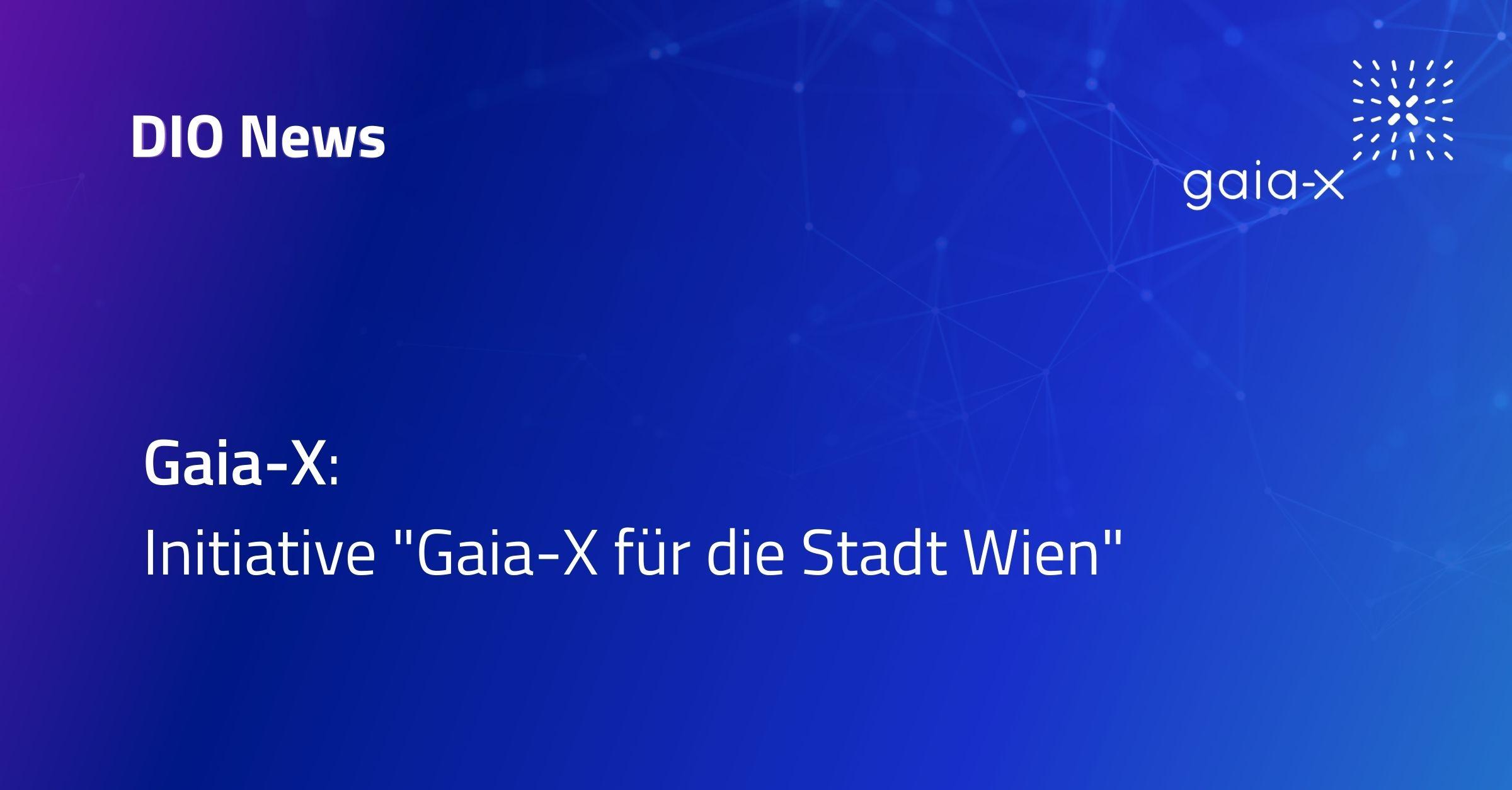 Gaia-X für die Stadt Wien