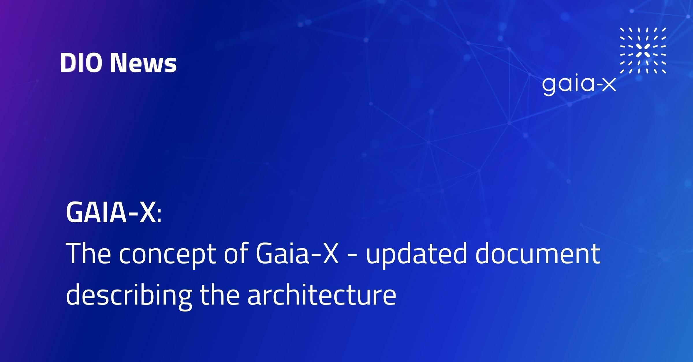 Gaia-X Architecture new Version