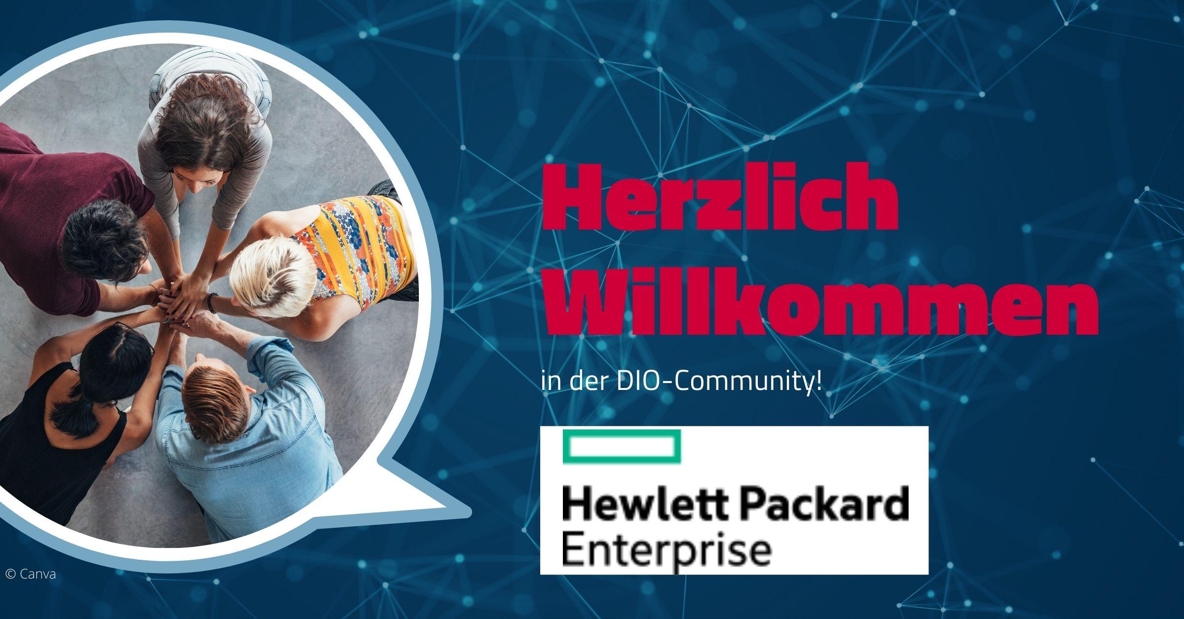Herzlich Willkommen Hewlett Packard Enterprise