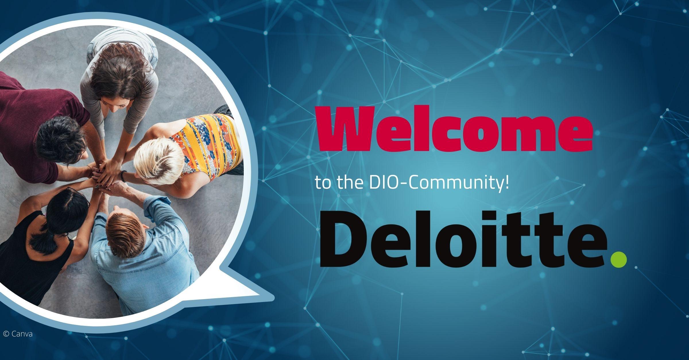 Welcome Deloitte