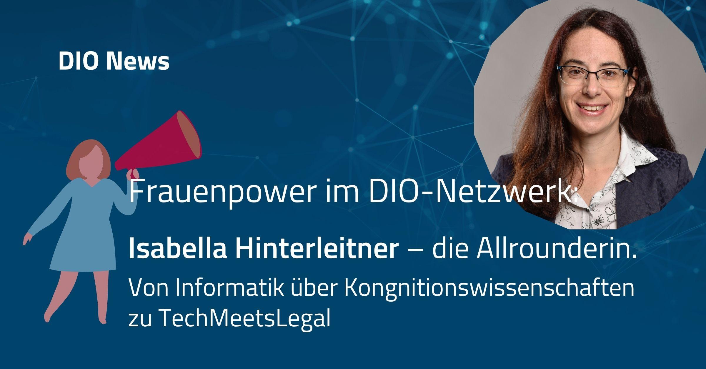 Isabella Hinterleitner – die Allrounderin.